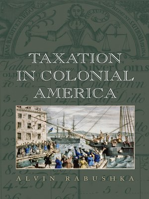cover image of Taxation in Colonial America