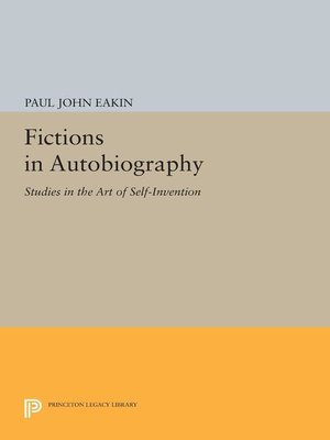 cover image of Fictions in Autobiography