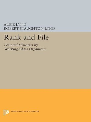 cover image of Rank and File