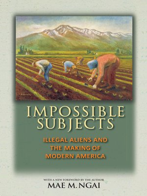 illegal aliens a problem of law and history by mae ngai This book traces the origins of the illegal alien in american law and  mae ngai offers a close reading of the  comprised, variously, illegal aliens,.