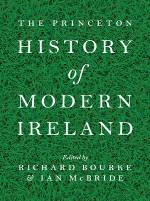 cover image of The Princeton History of Modern Ireland