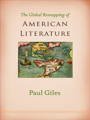 cover image of The Global Remapping of American Literature