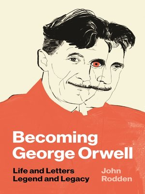 cover image of Becoming George Orwell