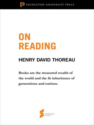 cover image of On Reading