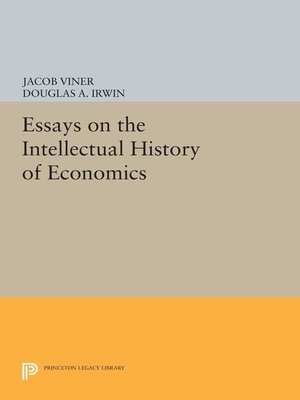 cover image of Essays on the Intellectual History of Economics
