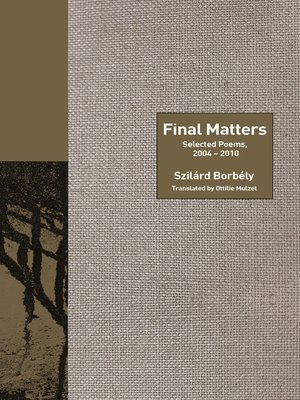 cover image of Final Matters