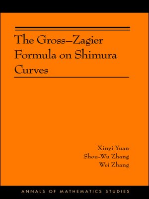 cover image of The Gross-Zagier Formula on Shimura Curves