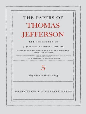 cover image of The Papers of Thomas Jefferson, Retirement Series, Volume 5