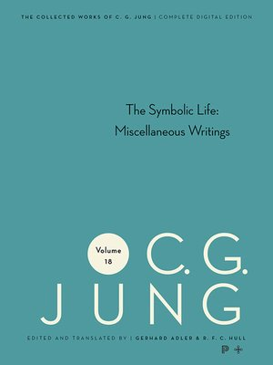 cover image of Collected Works of C.G. Jung, Volume 18