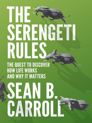 cover image of The Serengeti Rules
