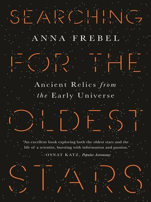 cover image of Searching for the Oldest Stars