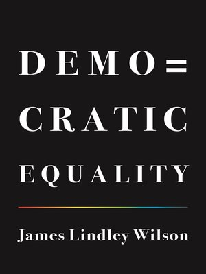 cover image of Democratic Equality