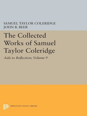 cover image of The Collected Works of Samuel Taylor Coleridge, Volume 9