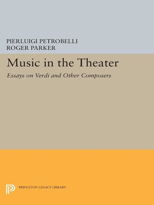 cover image of Music in the Theater