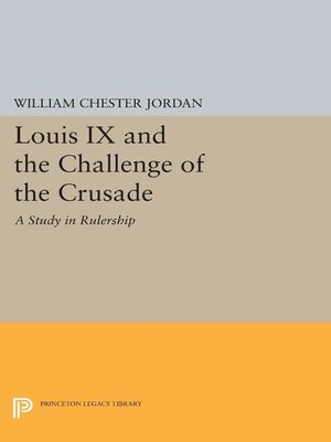 cover image of Louis IX and the Challenge of the Crusade