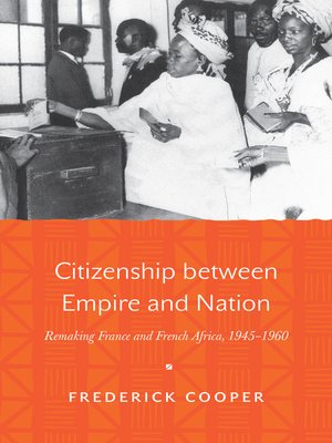 cover image of Citizenship between Empire and Nation
