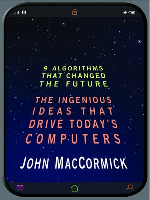 cover image of Nine Algorithms That Changed the Future