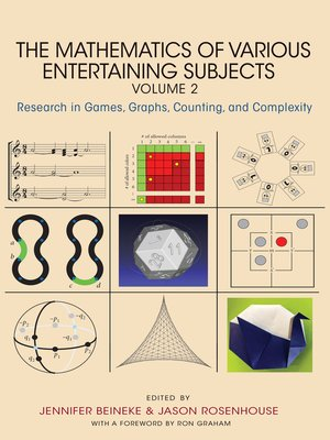 cover image of The Mathematics of Various Entertaining Subjects