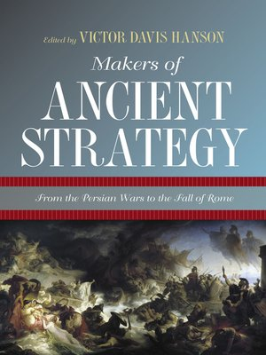 cover image of Makers of Ancient Strategy