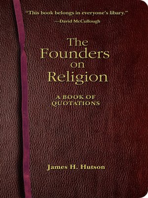 cover image of The Founders on Religion