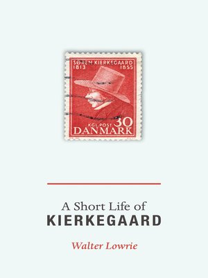 cover image of A Short Life of Kierkegaard