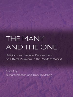 cover image of The Many and the One