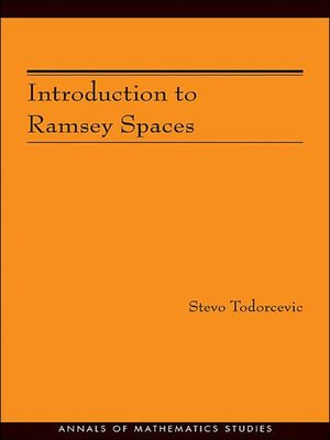 cover image of Introduction to Ramsey Spaces (AM-174)