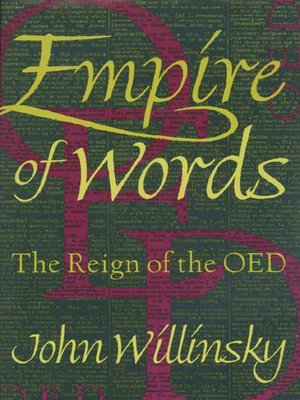 cover image of Empire of Words