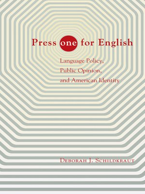 "cover image of Press ""one"" for English"