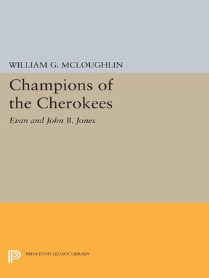 cover image of Champions of the Cherokees