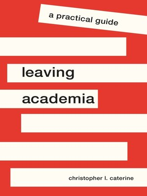 cover image of Leaving Academia