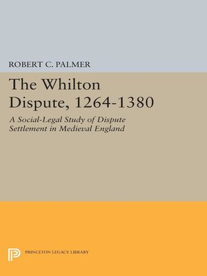 cover image of The Whilton Dispute, 1264-1380