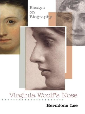 cover image of Virginia Woolf's Nose