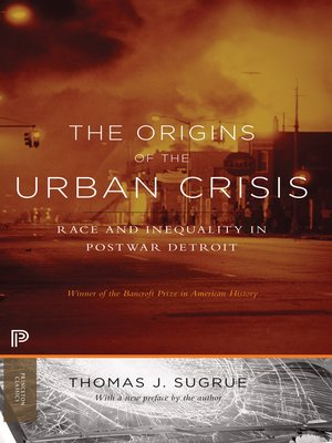 cover image of The Origins of the Urban Crisis