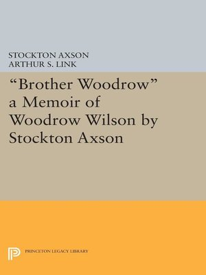 "cover image of ""Brother Woodrow"""