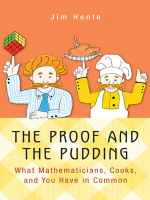 cover image of The Proof and the Pudding