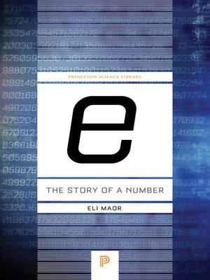 "cover image of ""e"": The Story of a Number"