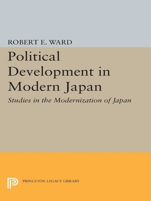 cover image of Political Development in Modern Japan