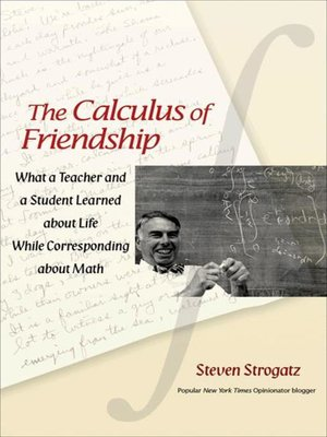 cover image of The Calculus of Friendship