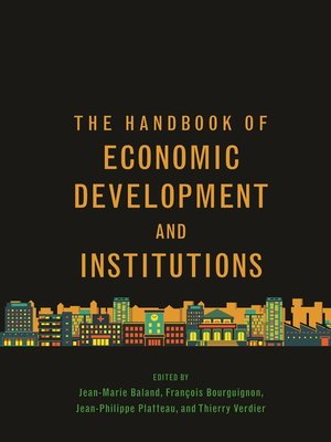 cover image of The Handbook of Economic Development and Institutions