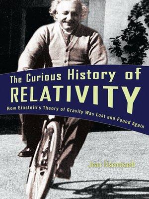 cover image of The Curious History of Relativity