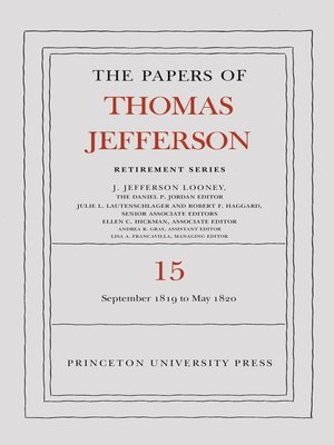 cover image of The Papers of Thomas Jefferson