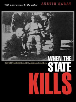 cover image of When the State Kills