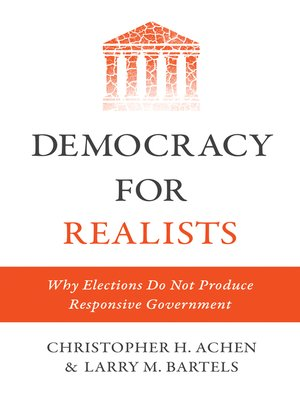cover image of Democracy for Realists