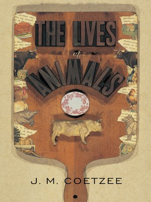 cover image of The Lives of Animals
