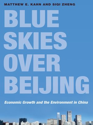 cover image of Blue Skies over Beijing