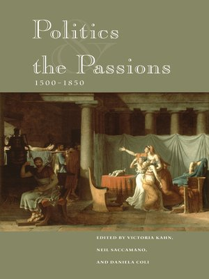 cover image of Politics and the Passions, 1500-1850
