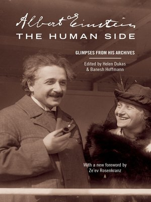 cover image of Albert Einstein, The Human Side