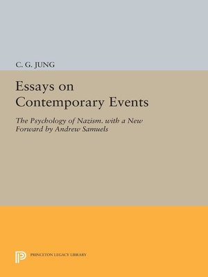 cover image of Essays on Contemporary Events