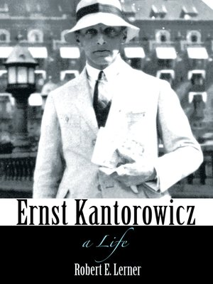 cover image of Ernst Kantorowicz